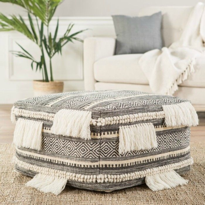 Jaipur squarePouf - 20 poufs and ottomans that add some wow-factor to your home