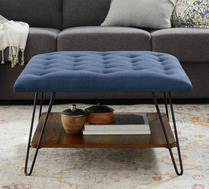 NestorTuftedSquareCocktailwithStorageOttoman - 20 poufs and ottomans that add some wow-factor to your home