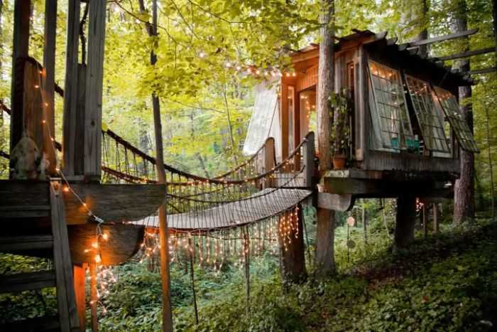 Secluded Inner Tree House (2)