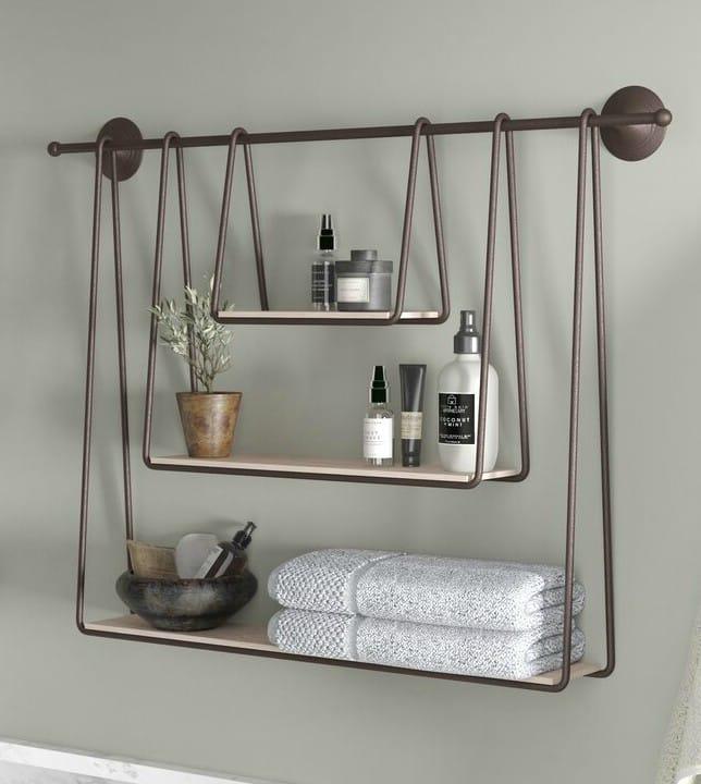 SirmansTripleHangingWallShelf - 20 brilliant wall shelf ideas that make storage look stylish