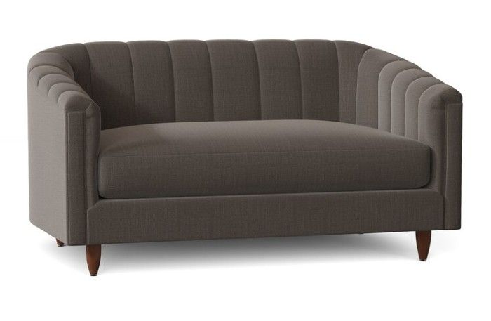 Viceroy6022TuxedoArmLoveseat - 25 gorgeous loveseats that are perfect for small spaces