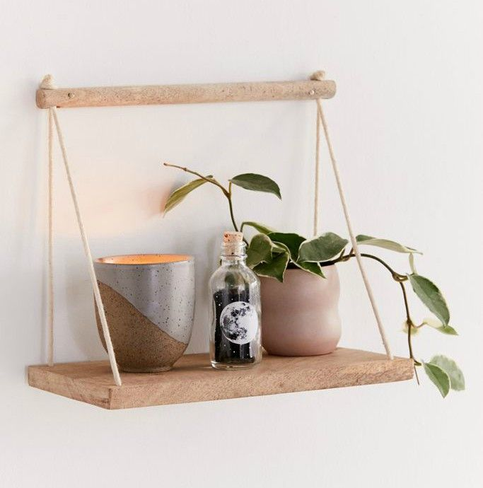 hanging wall shelf - 20 brilliant wall shelf ideas that make storage look stylish