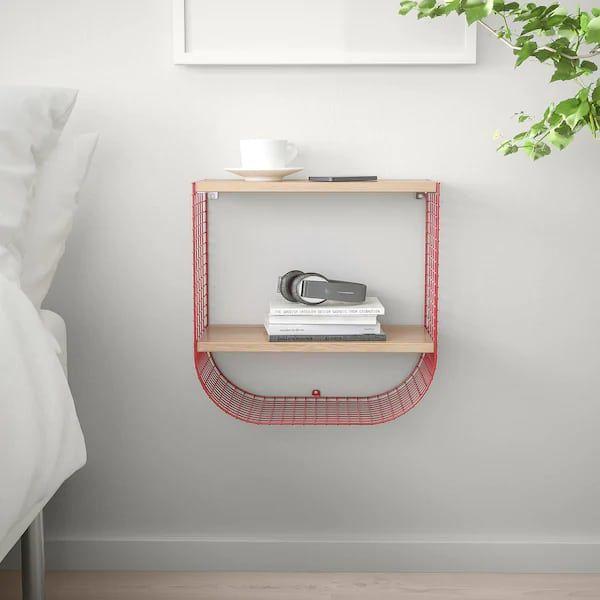 svenshult wall shelf with storage  0676622 PE718735 S5 - 20 brilliant wall shelf ideas that make storage look stylish