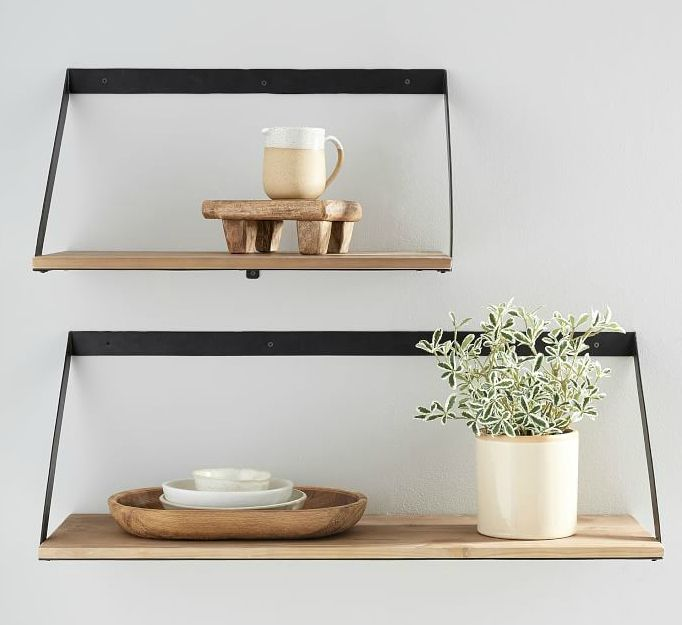 trenton shelves o - 20 brilliant wall shelf ideas that make storage look stylish
