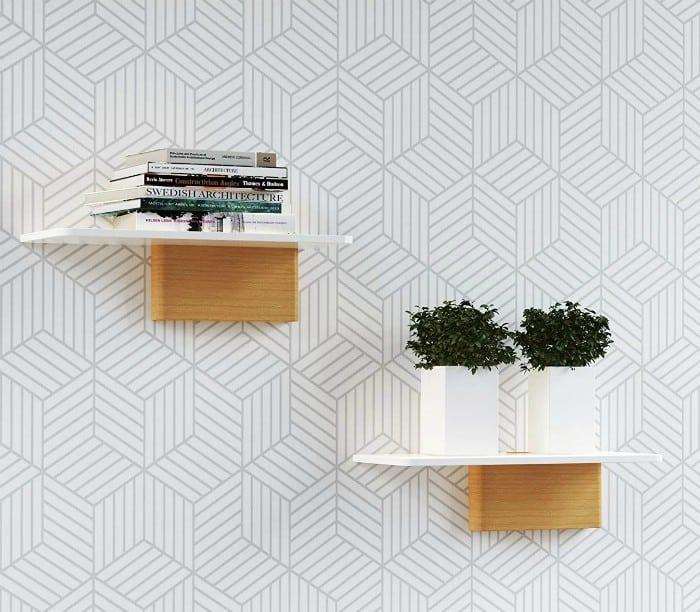 white floating shelves 1 - 20 brilliant wall shelf ideas that make storage look stylish