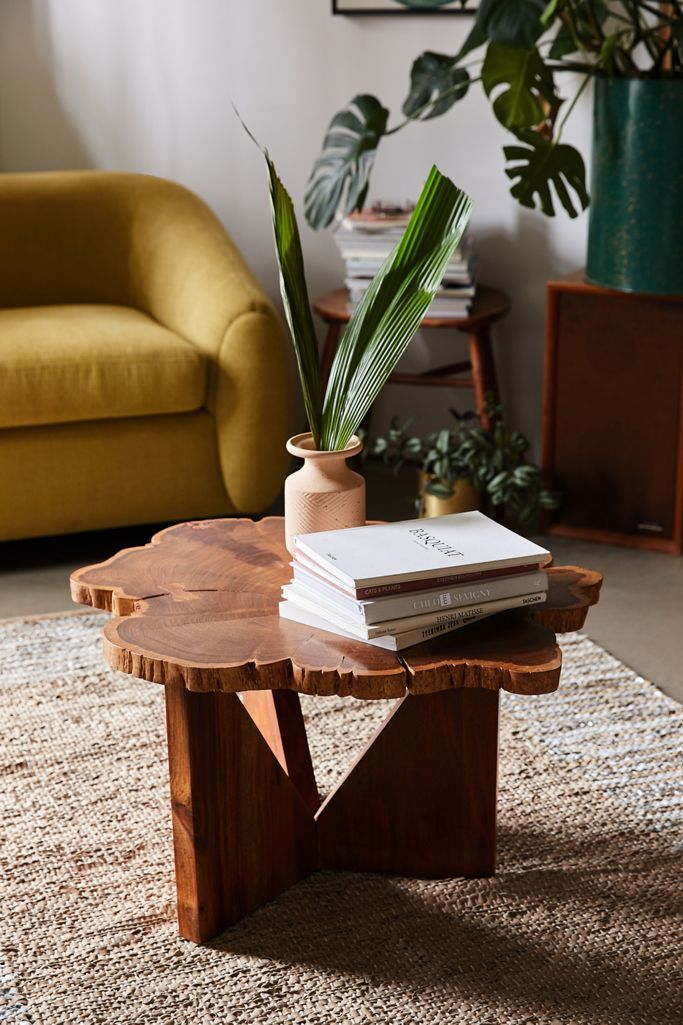 Akina Live Edge Coffee Table - Urban Outfitters launches fall 2020 furniture collection