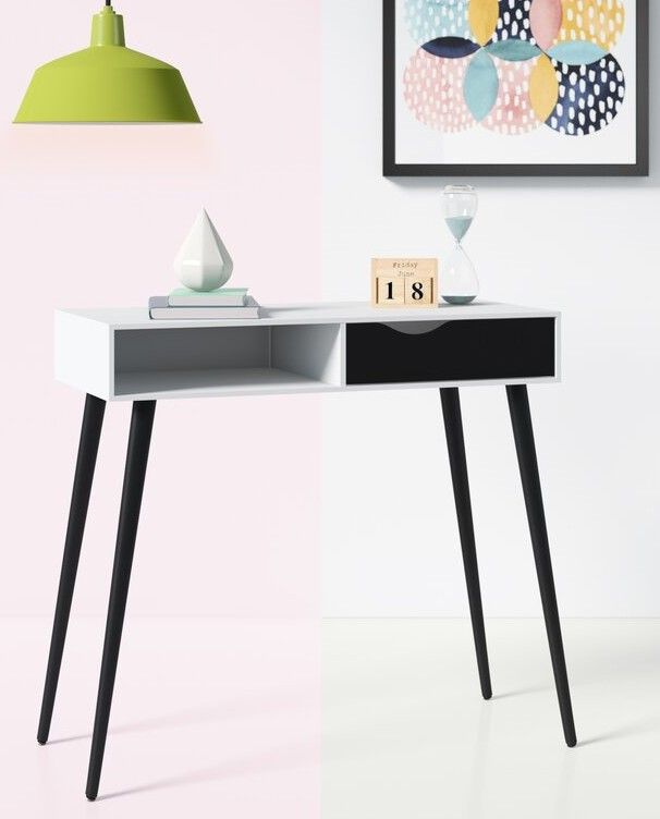 DowlerSolidWoodDesk - 18 fabulous desks that are ideal for small spaces
