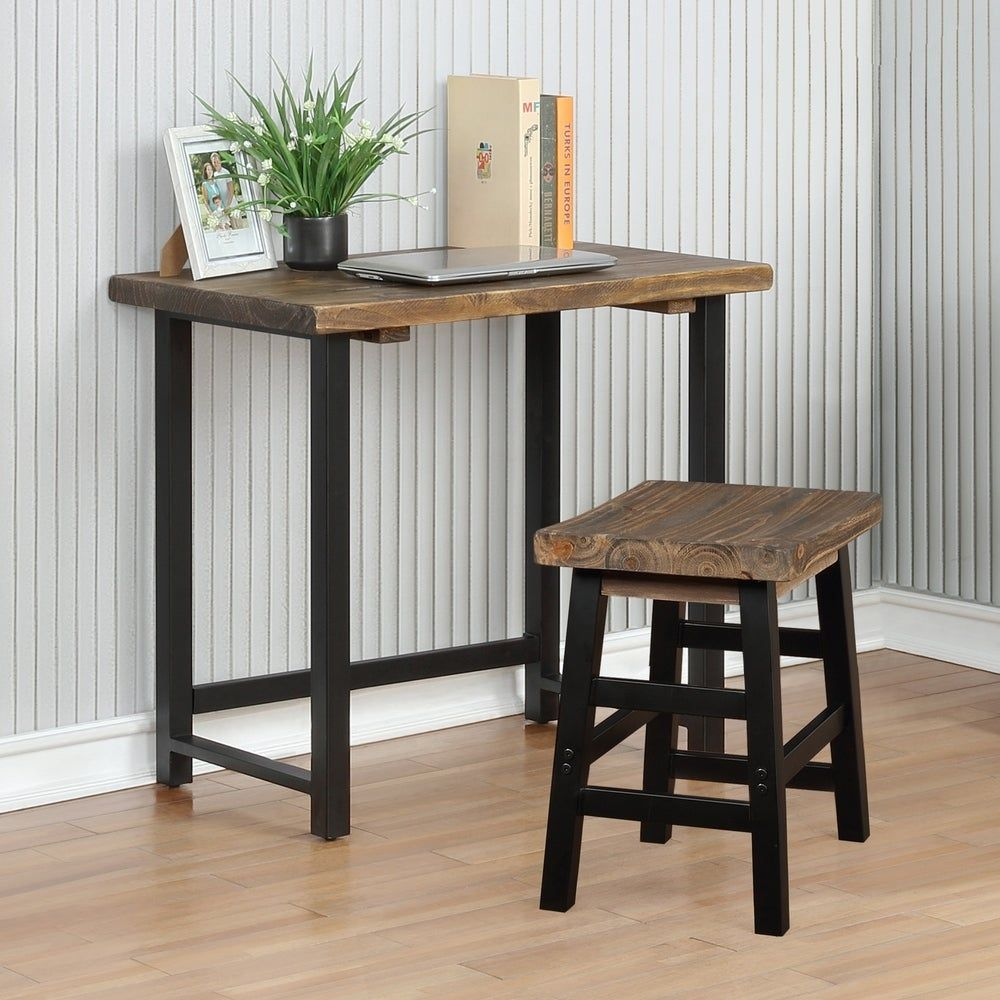 Pomona Metal and Solid Wood Desk fd5551c6 075a 47e2 9a31 8b9d1c58b0f9 1000 - 18 fabulous desks that are ideal for small spaces