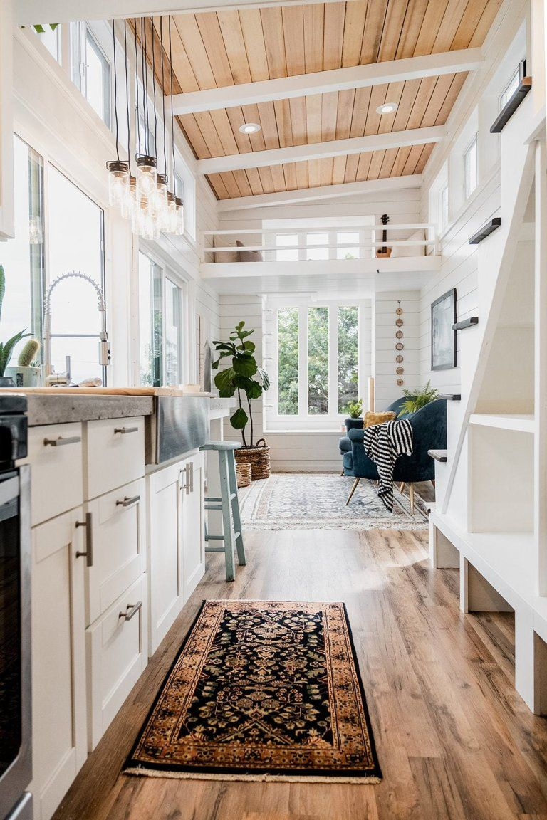 tiny house tay 1 - Couple started tiny house company after COVID-19 put them out of work. This is their first house.