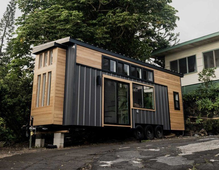 tiny house tay 11 - Couple started tiny house company after COVID-19 put them out of work. This is their first house.