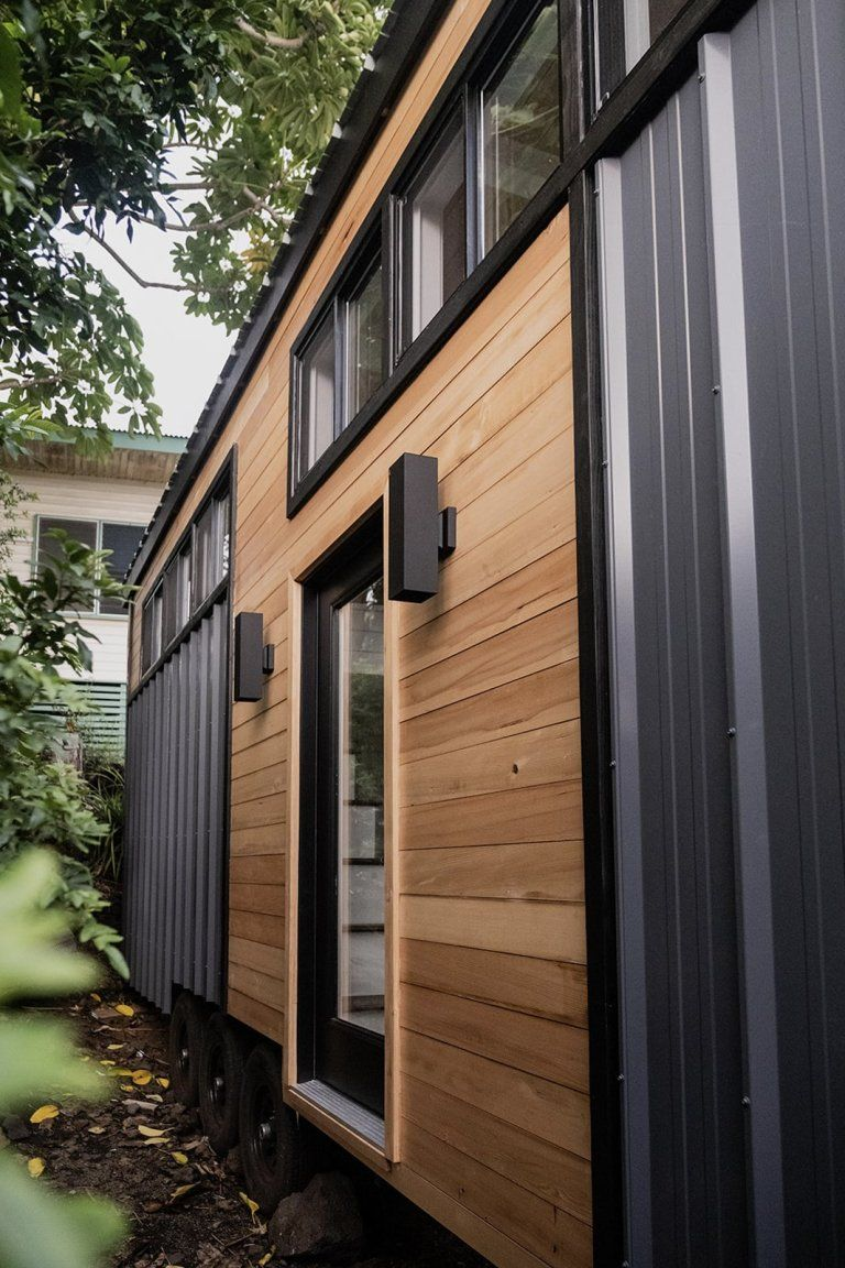 tiny house tay 12 - Couple started tiny house company after COVID-19 put them out of work. This is their first house.