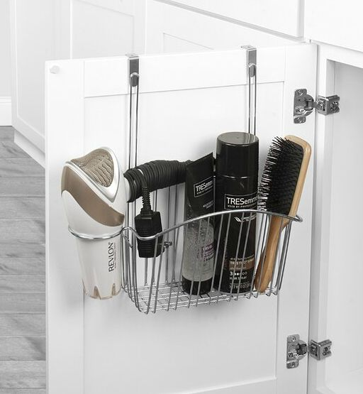 ContempoOver CabinetSteelBasket - 22 fabulous ideas for organizing your small bathroom
