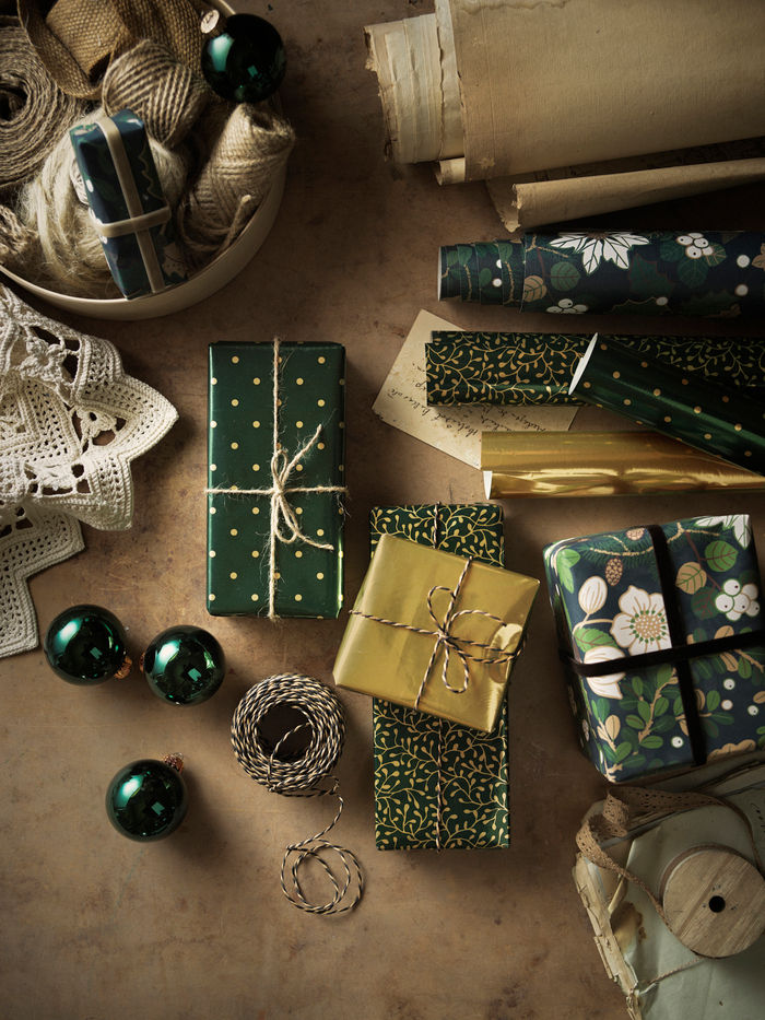 IKEA VINTER presentpapper PH173980 - First look at IKEA's 2020 Christmas collection