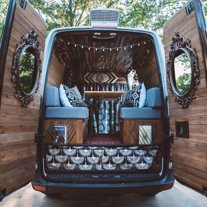 campervan girl 13 - Theresa turned a Mercedes-Benz Sprinter into a spectacular campervan
