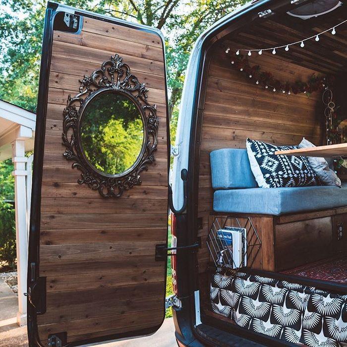 campervan girl 14 - Theresa turned a Mercedes-Benz Sprinter into a spectacular campervan