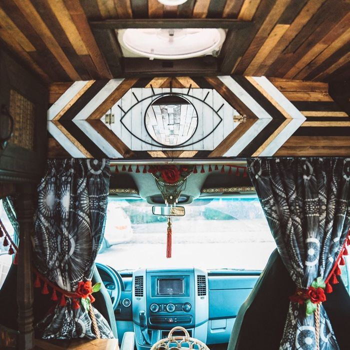 campervan girl 15 - Theresa turned a Mercedes-Benz Sprinter into a spectacular campervan