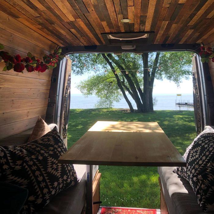 campervan girl 5 - Theresa turned a Mercedes-Benz Sprinter into a spectacular campervan