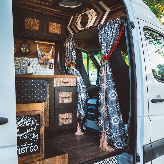 campervan girl 8 - Theresa turned a Mercedes-Benz Sprinter into a spectacular campervan