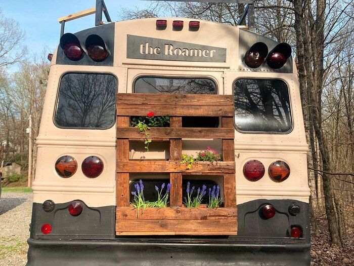 roamer bus conversion 1 - Caleb and friends converted old school bus into a lovely mobile home on $10K budget