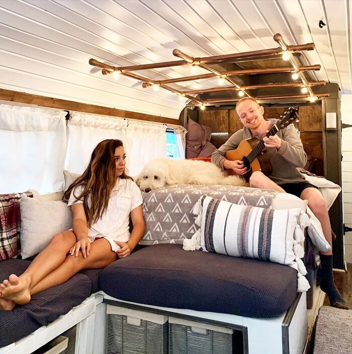 roamer bus conversion 19 - Caleb and friends converted old school bus into a lovely mobile home on $10K budget