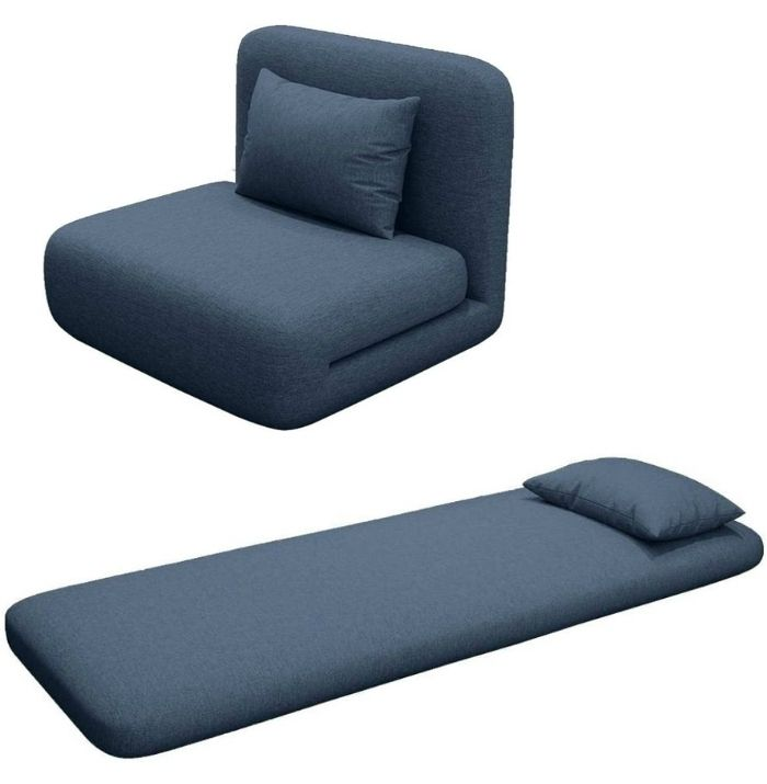 sleeper chair blue 2 - 12 convertible chair beds that go from seating to sleeping in seconds