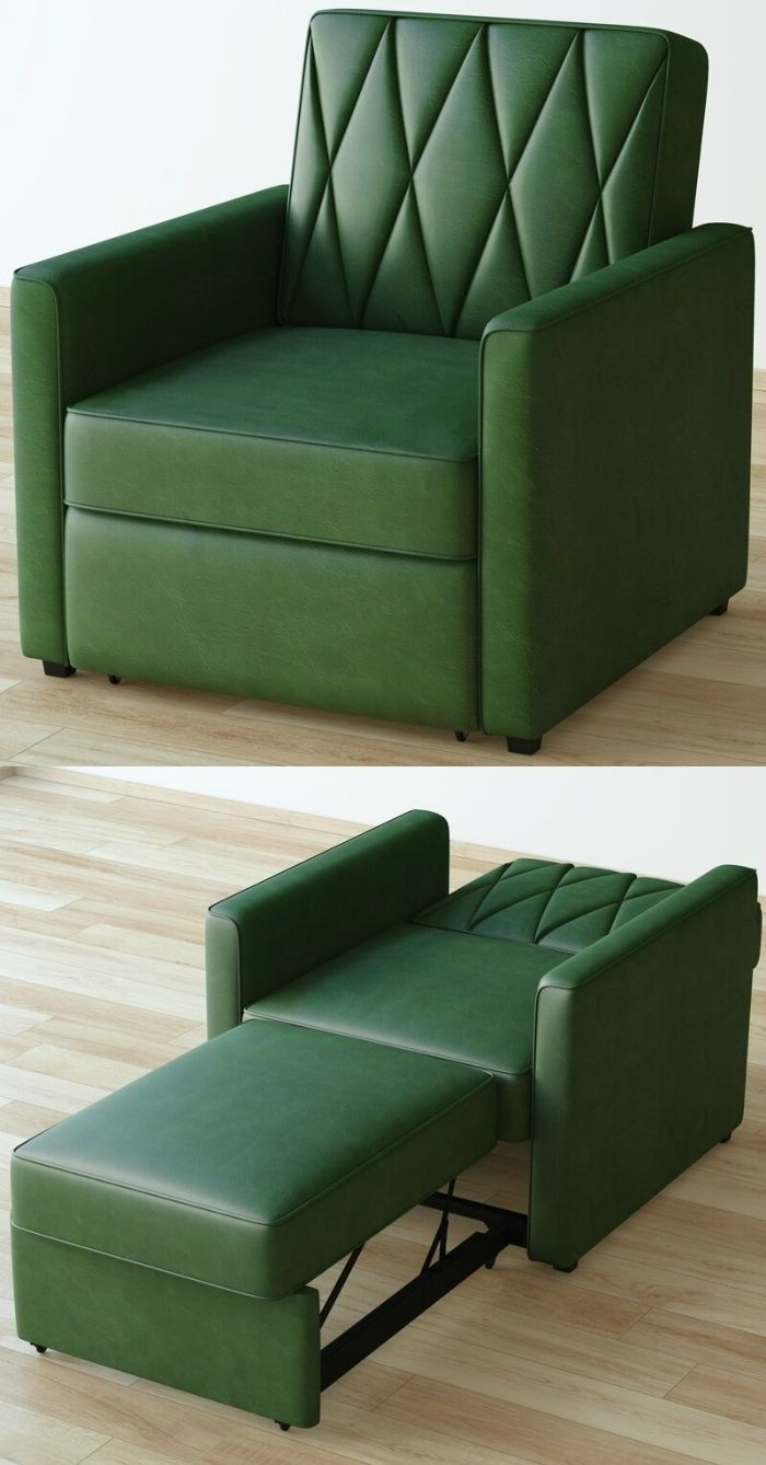 sleeper chair green - 12 convertible chair beds that go from seating to sleeping in seconds