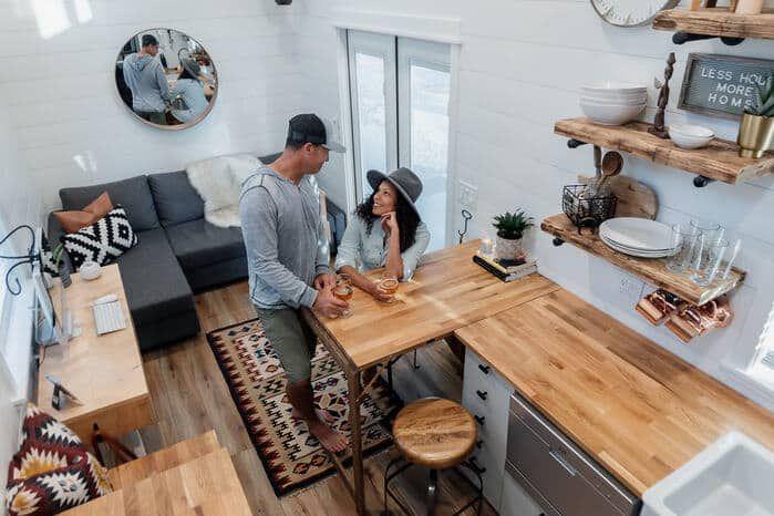 tiny homiez - Californian couple built their own tiny dream house on a $35,000 budget