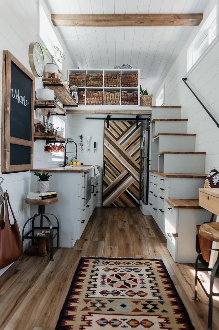 tiny house homiez 11 - Californian couple built their own tiny dream house on a $35,000 budget