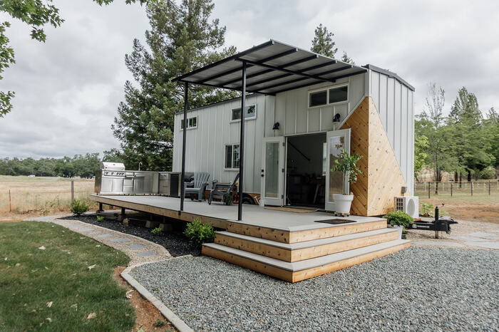 tiny house homiez 19 - Californian couple built their own tiny dream house on a $35,000 budget
