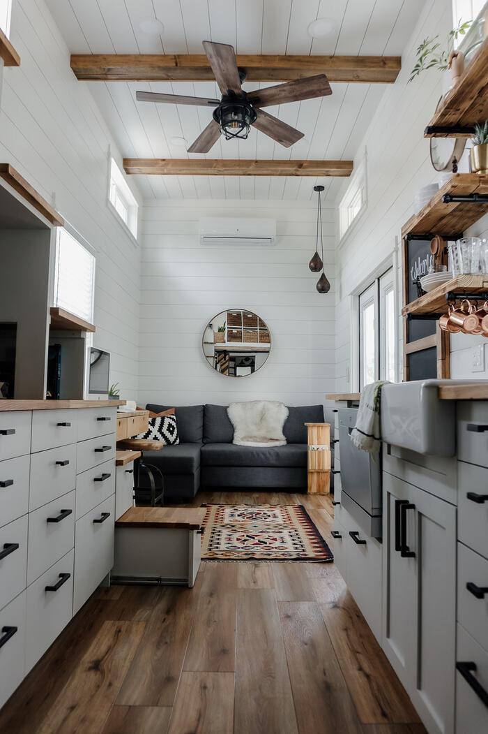tiny house homiez 6 - Californian couple built their own tiny dream house on a $35,000 budget