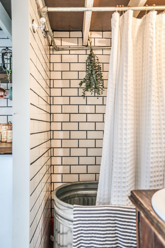 tiny house interior design 12 - Take a tour of this designer's maximalist 175 square-foot tiny house