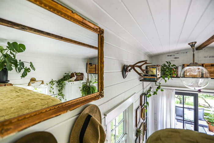 tiny house interior design 17 - Take a tour of this designer's maximalist 175 square-foot tiny house