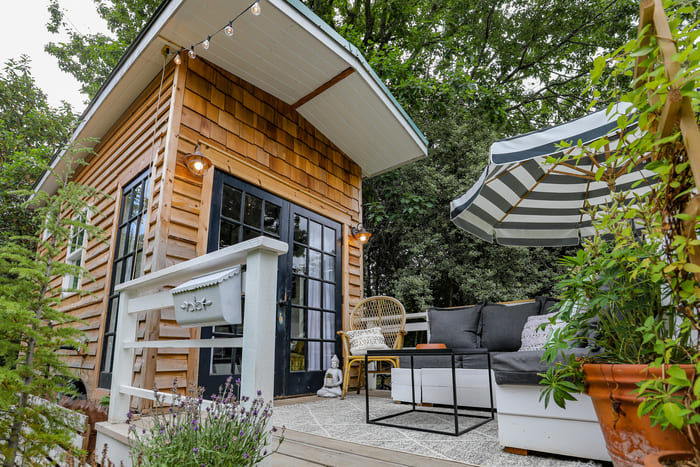 tiny house interior design 22 - Take a tour of this designer's maximalist 175 square-foot tiny house