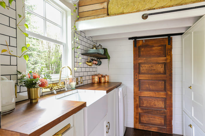 tiny house interior design 5 - Take a tour of this designer's maximalist 175 square-foot tiny house