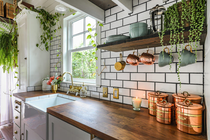 tiny house interior design 7 - Take a tour of this designer's maximalist 175 square-foot tiny house