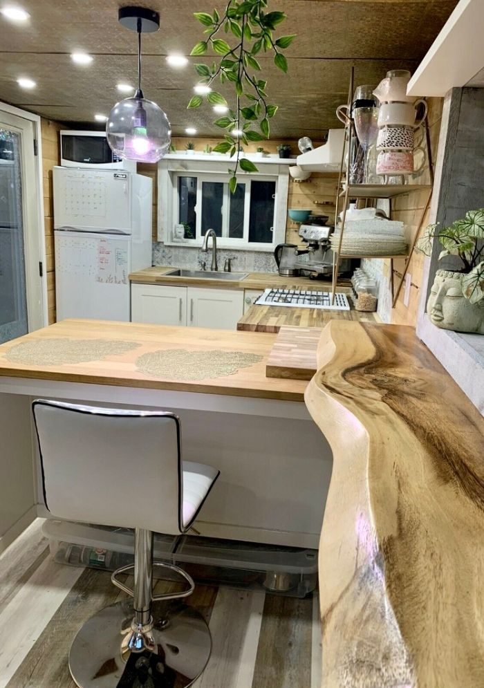 tiny house sale 3 - This spectacular tiny house exudes rustic charm. And it's for sale right now