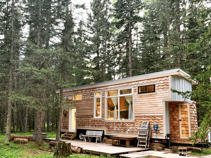 tiny house sale 5 1 - This spectacular tiny house exudes rustic charm. And it's for sale right now