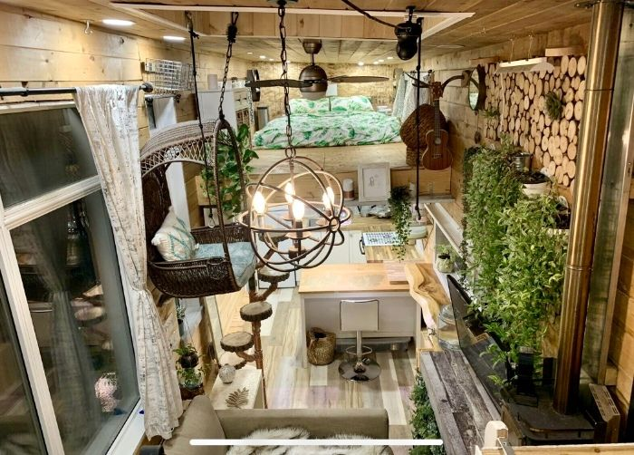 tiny house sale 5 - This spectacular tiny house exudes rustic charm. And it's for sale right now