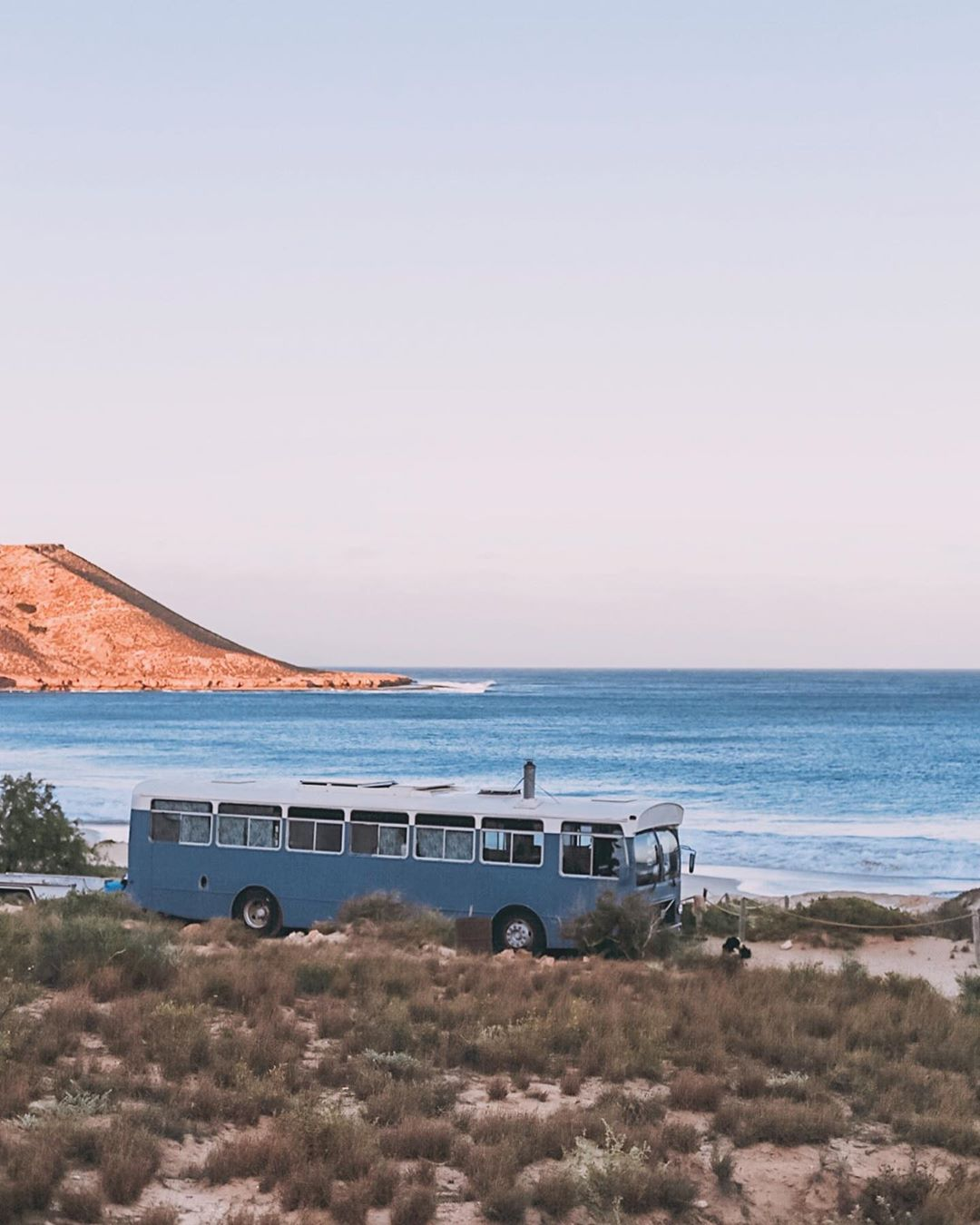 71286744 2336744523117982 1419965244428106503 n - Australian couple convert old city bus into colourful motorhome