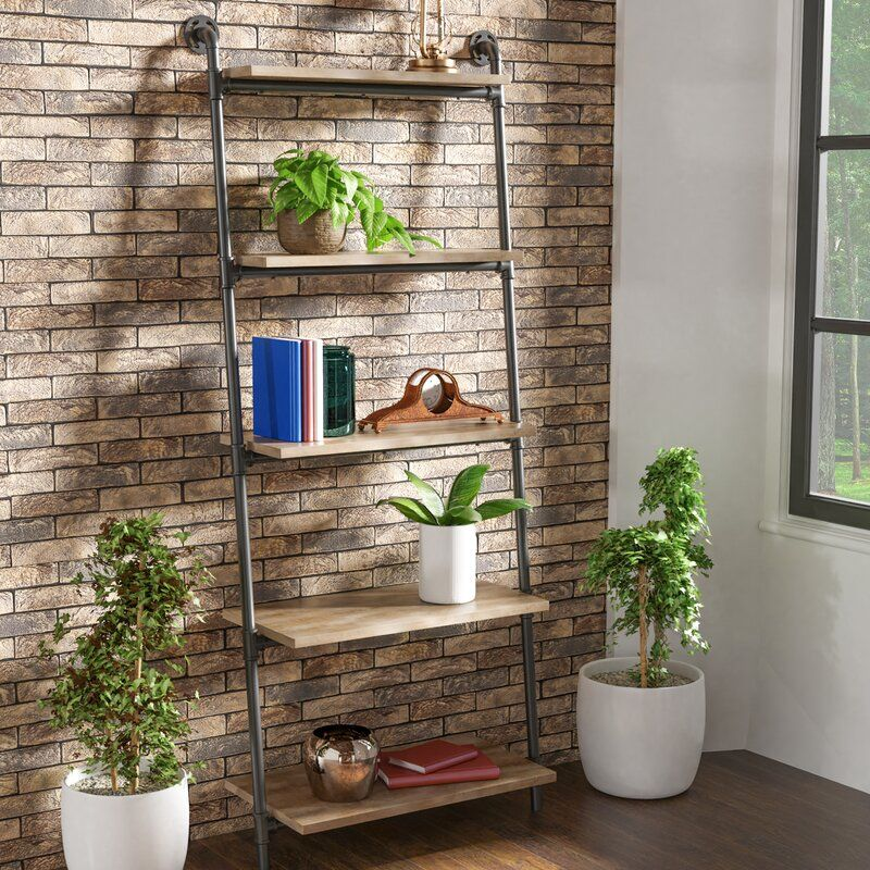HollingsworthLadderBookcase - 22 brilliant bookcases for small spaces