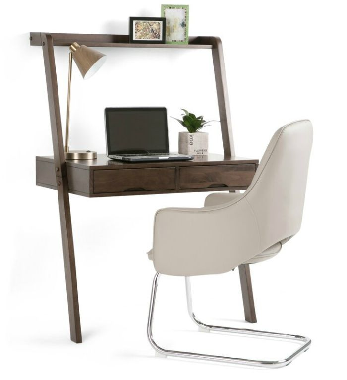 LadderDesk 1 - 20 stylish desk ideas for small spaces