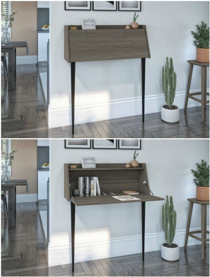 desk secretary - 20 stylish desk ideas for small spaces