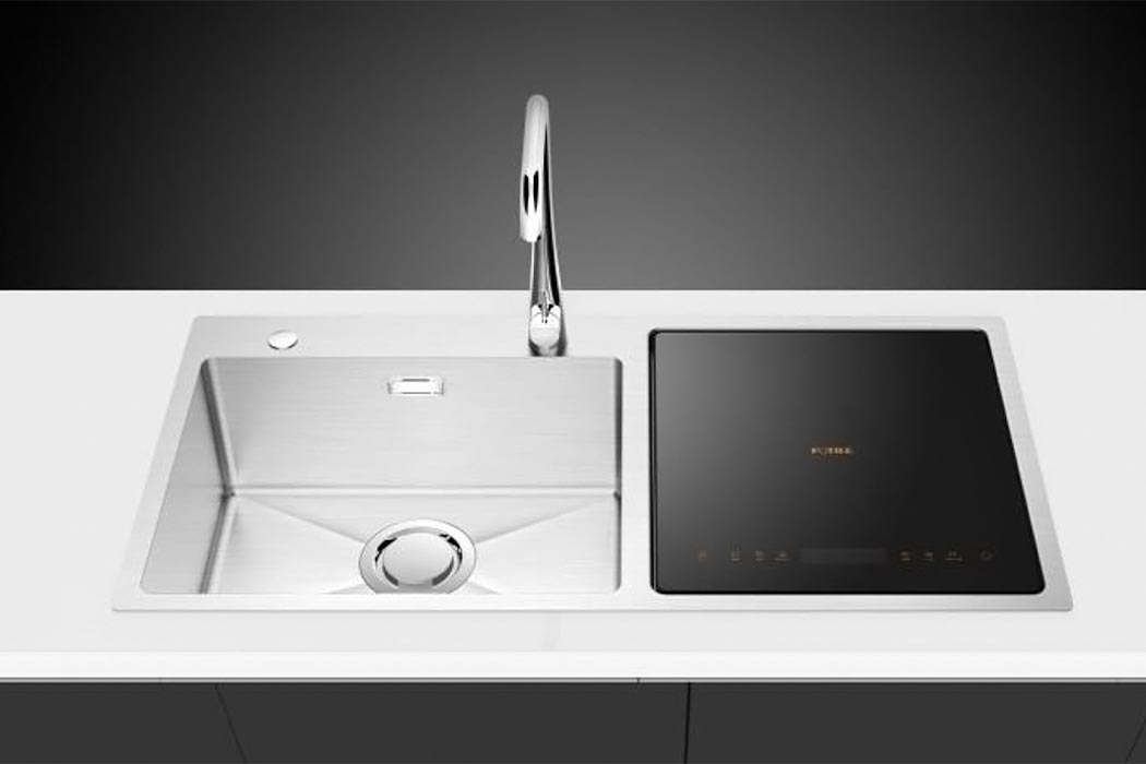 fotile dishwasher 4 - Space-saving in-sink dishwasher does double duty as produce cleaner