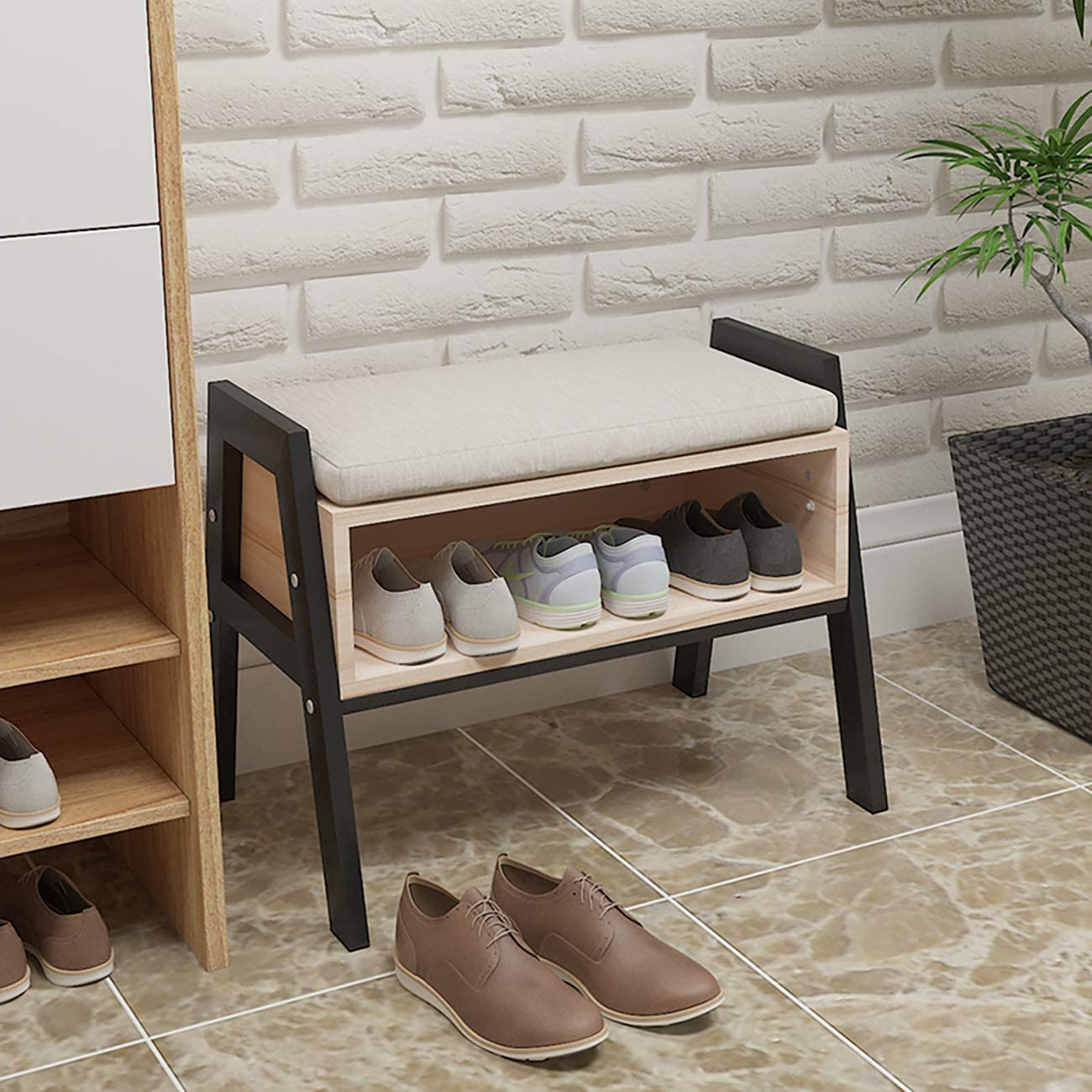 71c6JovYpL. AC SL1300  - 20 clever shoe storage ideas for clutter-free living