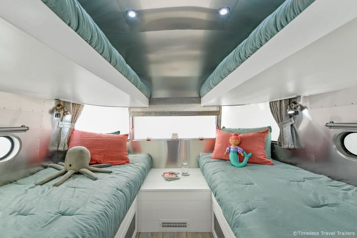 Amazing Grace Airstream by Timeless Travel Trailers 5 1 - Amazing Grace: A beautiful remodeled Flying Cloud Airstream trailer
