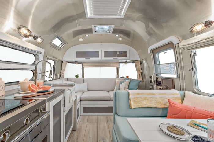 Amazing Grace Airstream by Timeless Travel Trailers 5 5 - Amazing Grace: A beautiful remodeled Flying Cloud Airstream trailer