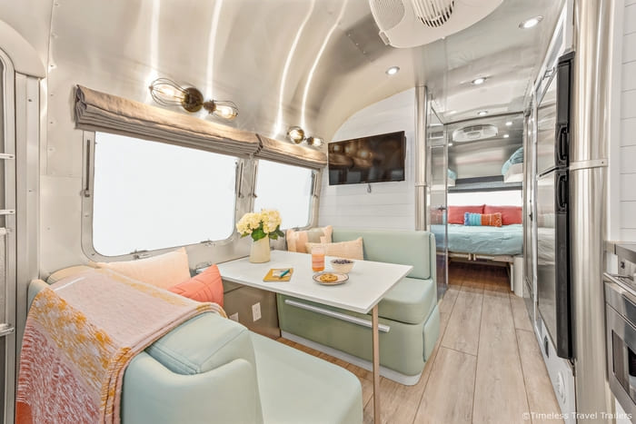 Amazing Grace Airstream by Timeless Travel Trailers 5 8 - Amazing Grace: A beautiful remodeled Flying Cloud Airstream trailer