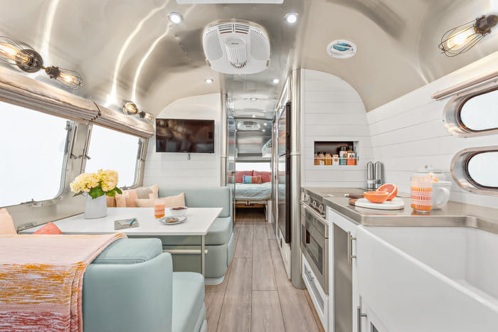 Amazing Grace Airstream by Timeless Travel Trailers 5 9 - Amazing Grace: A beautiful remodeled Flying Cloud Airstream trailer