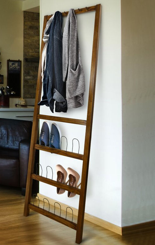 BallycastleLeaningCoatRack 1 - 20 clever shoe storage ideas for clutter-free living