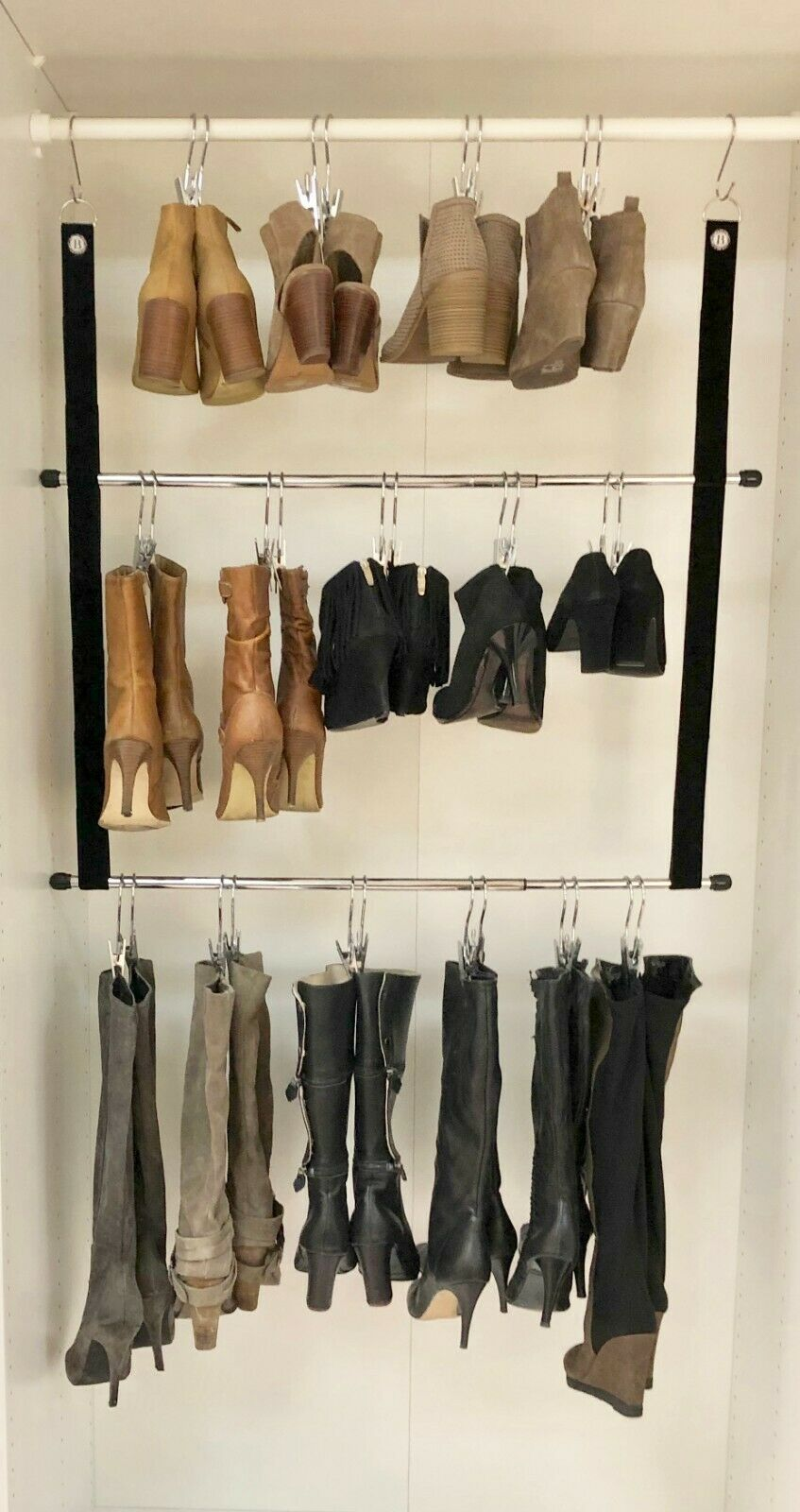 Double decker shoe storage 1 - 20 clever shoe storage ideas for clutter-free living